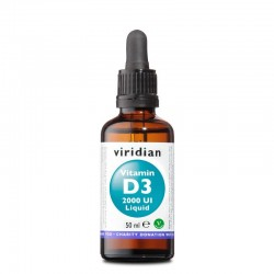 Viridian Vitamin D3 2000 UI Liquid 50 ml