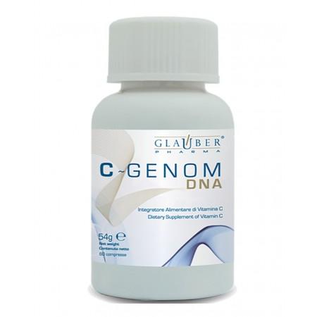 Forza Vitale Glauber Pharma C Genom DNA 60 cpr Integratore alimentare