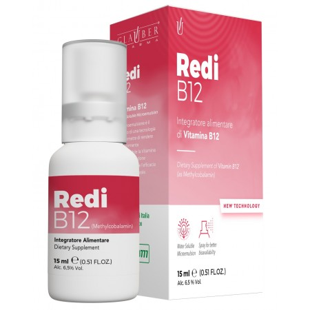 Forza Vitale Glauber Pharma Redi B12 15 ml Integratore alimentare Spray