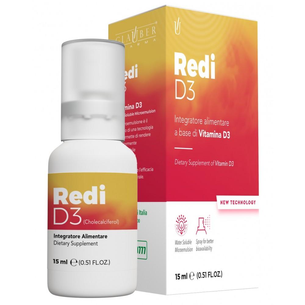 Forza Vitale Glauber Pharma Redi D 3 15