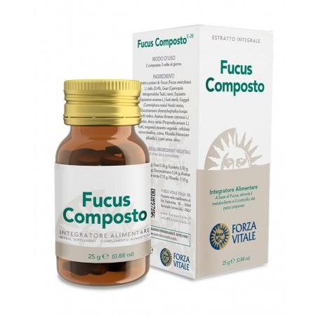 Forza Vitale Fucus Composto 25 g Integratore alimentare