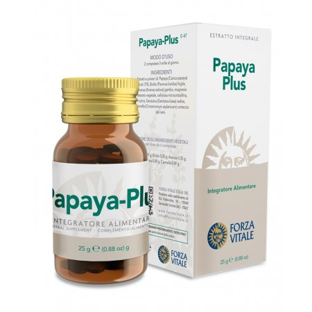Forza Vitale Papaya Plus 25 g tav Integratore alimentare