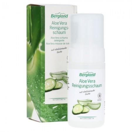 Schiuma detergente all'Aloe Vera 100 ml Bergland