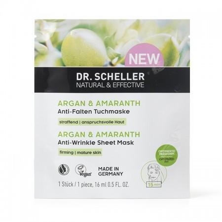 Maschera antirughe Argan e Amaranto 16 ml Dr. Scheller