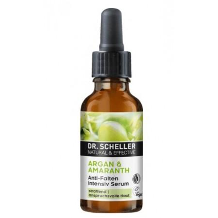 Siero intensivo antirughe Argan e Amaranto 30 ml Dr. Scheller