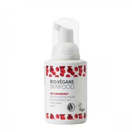 Schiuma Detergente Viso Bio Cranberry 100 ml Bio Végan